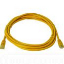 PATCH LEAD CAT 5E 0.5M YELLOW