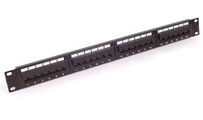 PATCH PANEL 24 PORT CAT 6 110